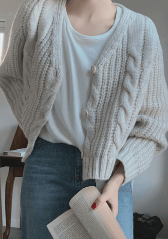 Thank You For Coming Knit Cardigan