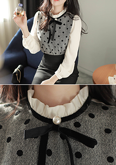 Polka Beauty Blouse