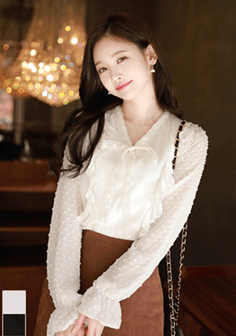 Winter People Lace Blouse