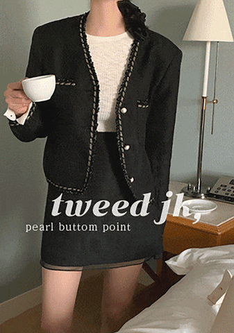 Living And Dreaming Tweed Jacket
