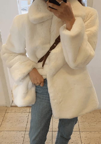 What Will Continue Faux-Fur Jacket
