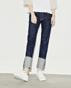 Roll Up Selvage Denim