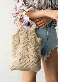 Christchurch Knit Shoulder Bag