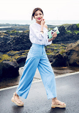 CHUU<BR>If You Like All Wide Leg Pants
