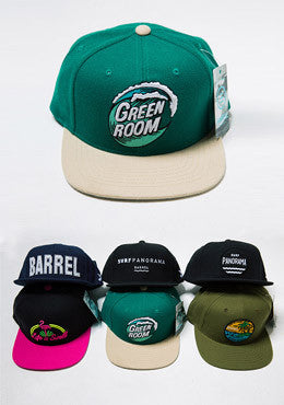 Barrel Snapback Hat