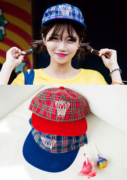 Tay Frosty Plaid Baseball Cap