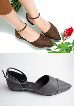 Aroma Autumn Pointed Toe Flat Shoes