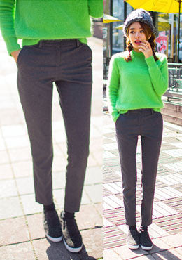 CHUU<BR>Sleek And Warm Pants