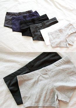 CHUU<BR>Simple lines Part Inner Pants