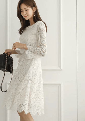 Groove Thing Lace Dress