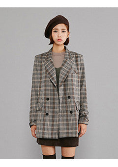 Straight Check Jacket