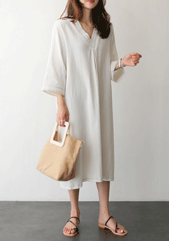 Isaac Midi Loose Dress