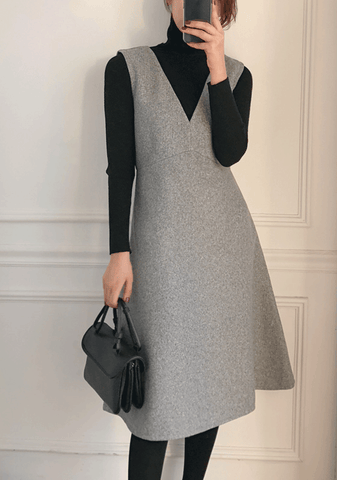 The Last Page Top Sleeveless Dress Set