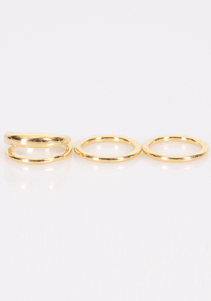 Old Notebook Rings Set