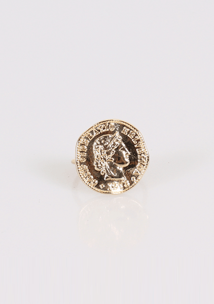 Small Change Coin Ring