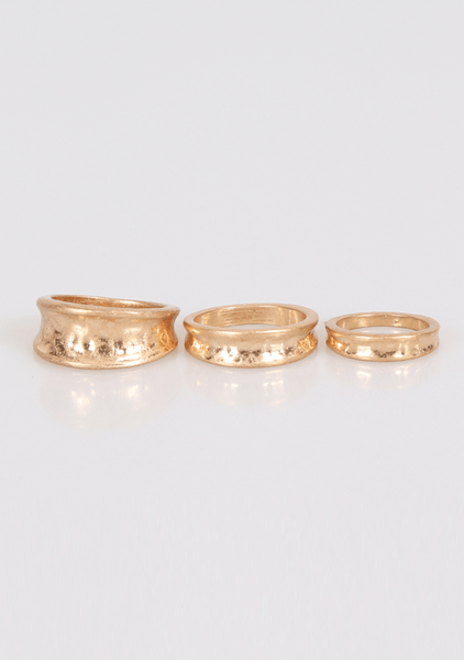 Live Laugh Lover Rings Set