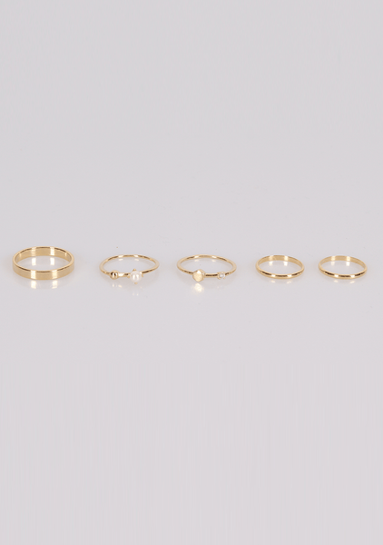 Better Late Than Never Rings Set