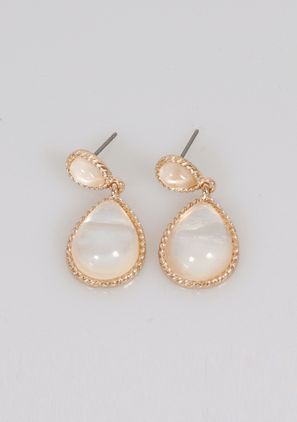 Shinny Light Pendant Earrings