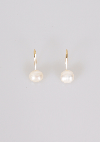 Feelings Cant Be Measured Pearls Earrings