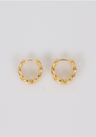 On Your Own Hoops Earrings