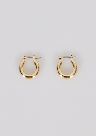 At Peace Hoops Earrings