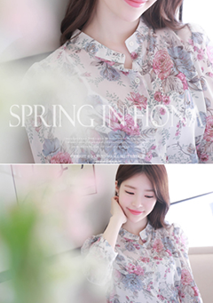 Flower World Blouse