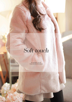 Till This Night Soft Faux-Fur Jacket