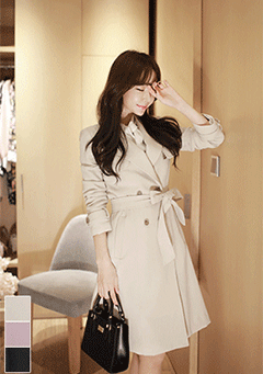 Dazzling Spring Trench Coat