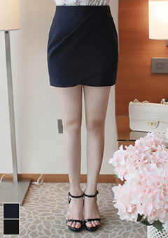 Tulip Design Mini Skirt