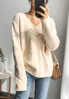 Friday Night Thread Knit Sweatshirt