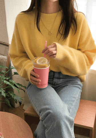 An Emotion Soft Knit Sweater