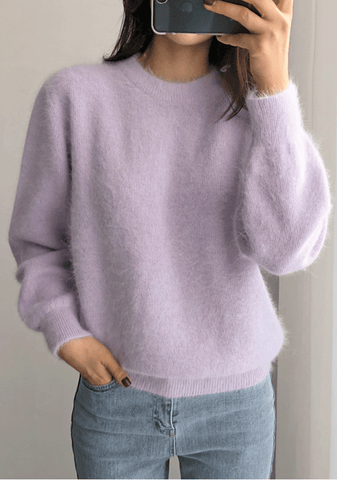 Thought Found Words Knit Sweater