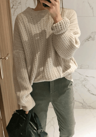 You Know Better Thread Knit Sweater