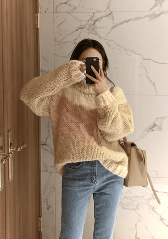 Great Power Knit Sweater
