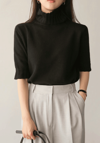 By Every Experience Turtleneck Knit Top