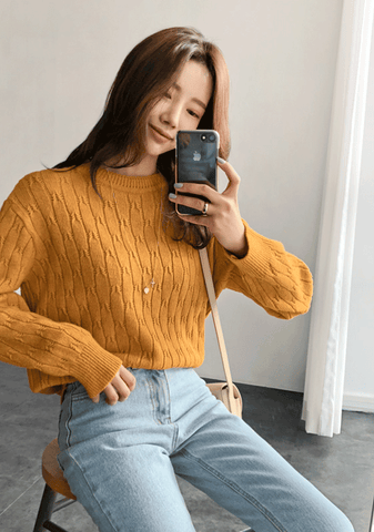 You Gain Strength Knit Sweater