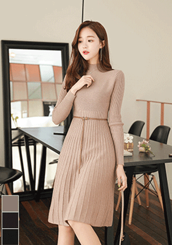 Capacity For Enthusiasm Knit Dress