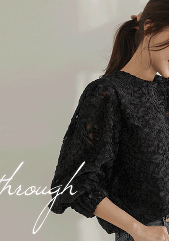 Empowering Lace Blouse
