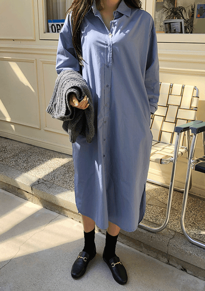 Promise In The Sky Shirt Dress