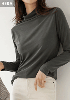 The Wells Of Silence High-Neck Top