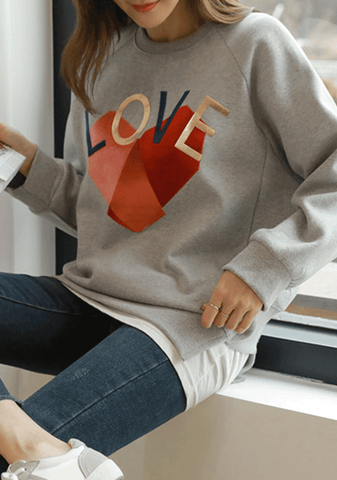 Love Patch Sweatshirt