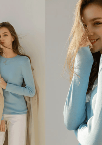 Forgotten Goals Long Sleeves Knit Top