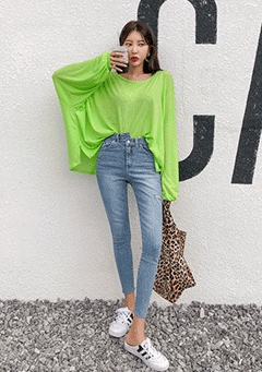 Archie Oversized Long Sleeves Top