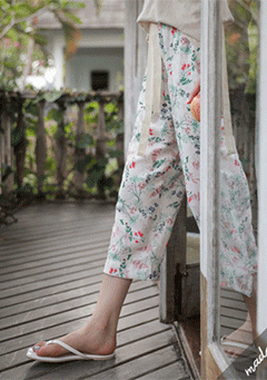 Malmo Spring Flowers Lounge Wear Pants