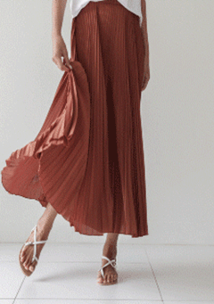 A New Hope Pleated Maxi Skirt