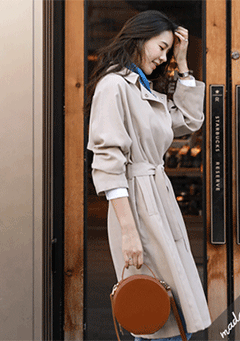 Cubic Trench Coat