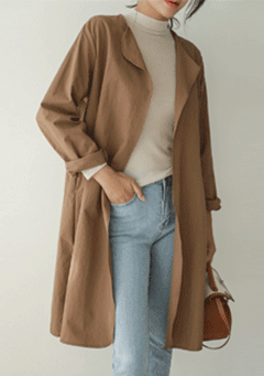 Modern Pol Light Long Jacket