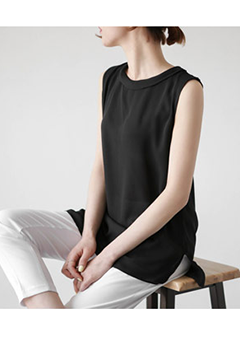 Quiet Chiffon Sleeveless