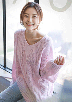 Pastel Candy Knit Sweater