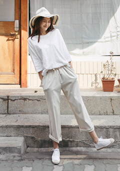 Basic Wide Pants